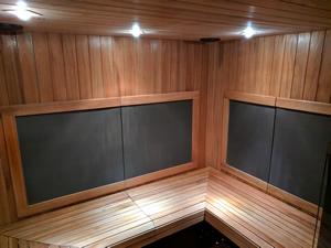Infrared Sauna Inside View