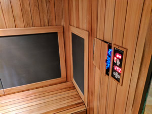 Infrared Sauna Inside View